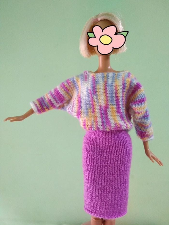 Продается вязанный костюм на куклу Барби. ( Пряжа- мех норки). 00a1fcc5b1a
