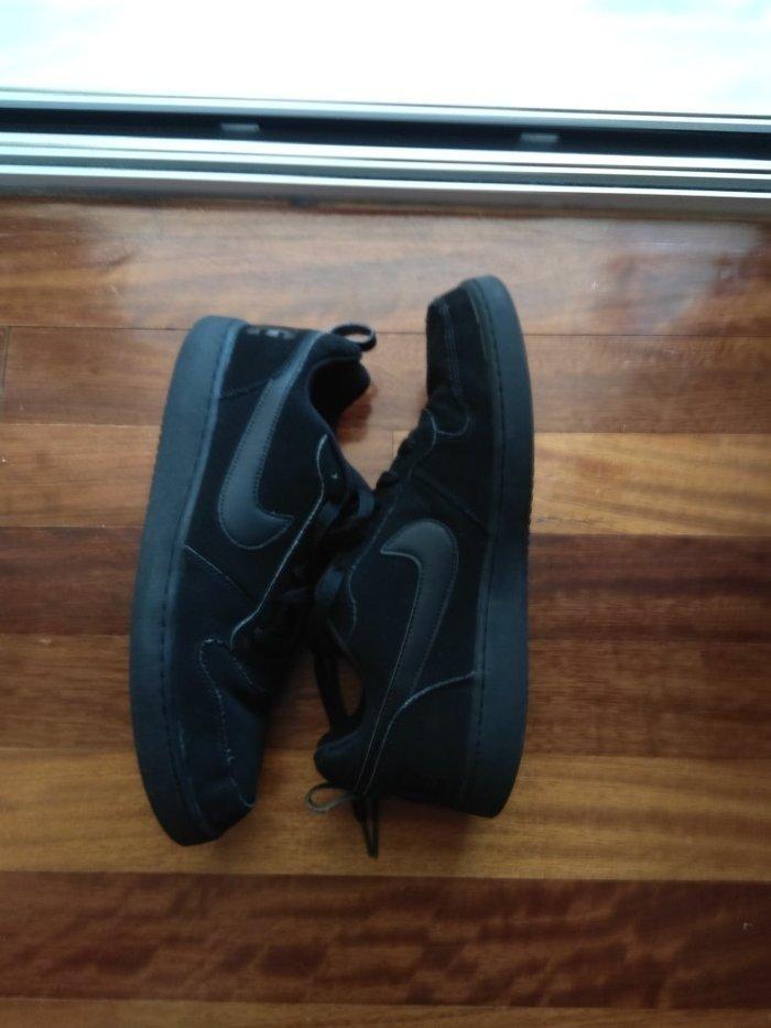 Nike  μαύρα παπούτσια ανδρικά σε άριστη. Photo 3