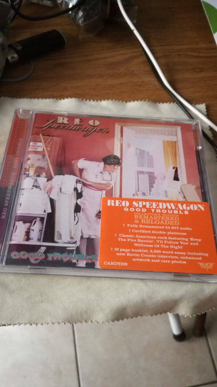 REO Speedwagon Rock Candy Remastered CD. σε Αμπελάκια