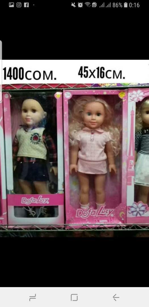 Куклы большие и маленькие, цена на фото. с доставкой по городу 4b34019badd