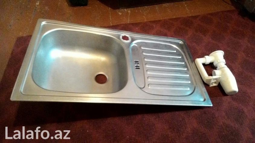 Продается кухонная раковина, почти не использованная, нержавейка.. Photo 2