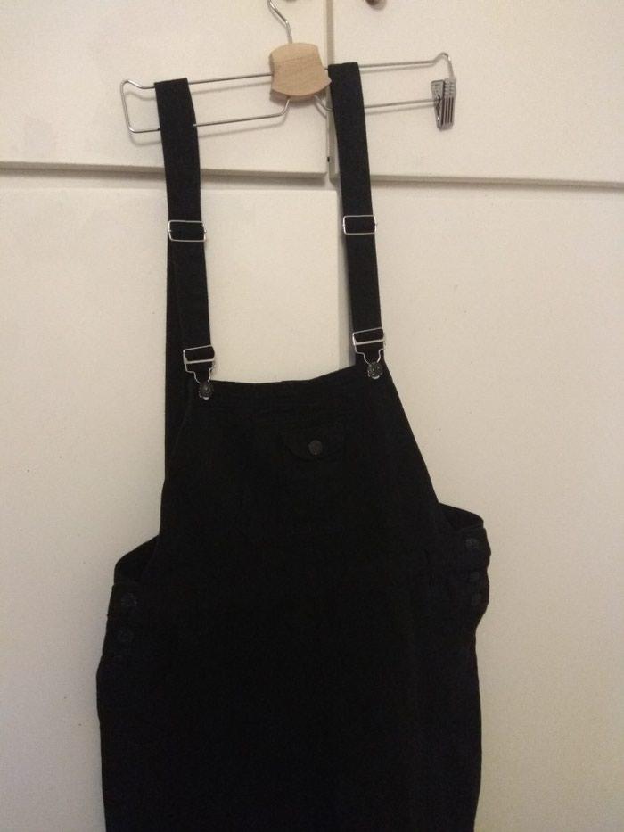 Μαύρη σαλοπετα παντελόνι, μεγεθος xl. Photo 1