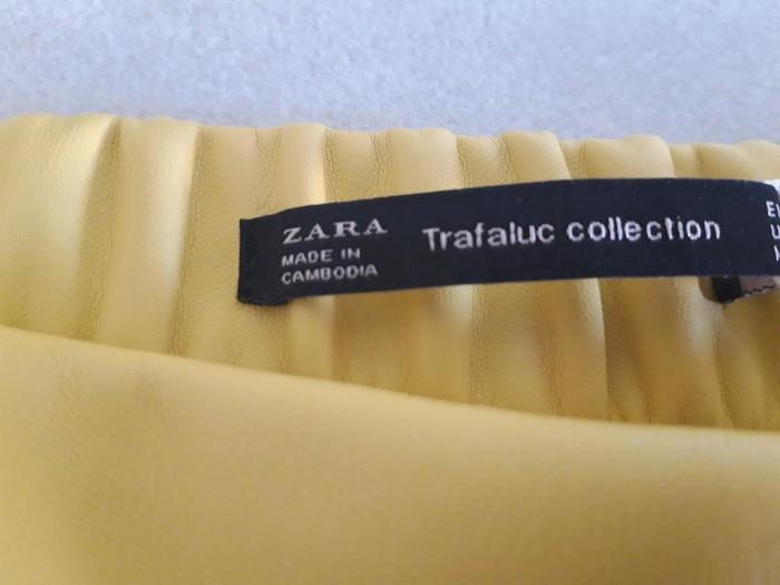 Μίνι φούστα  Zara  Καινούρια  Δερμάτινη  10€ +έξοδα αποστολής. Photo 1
