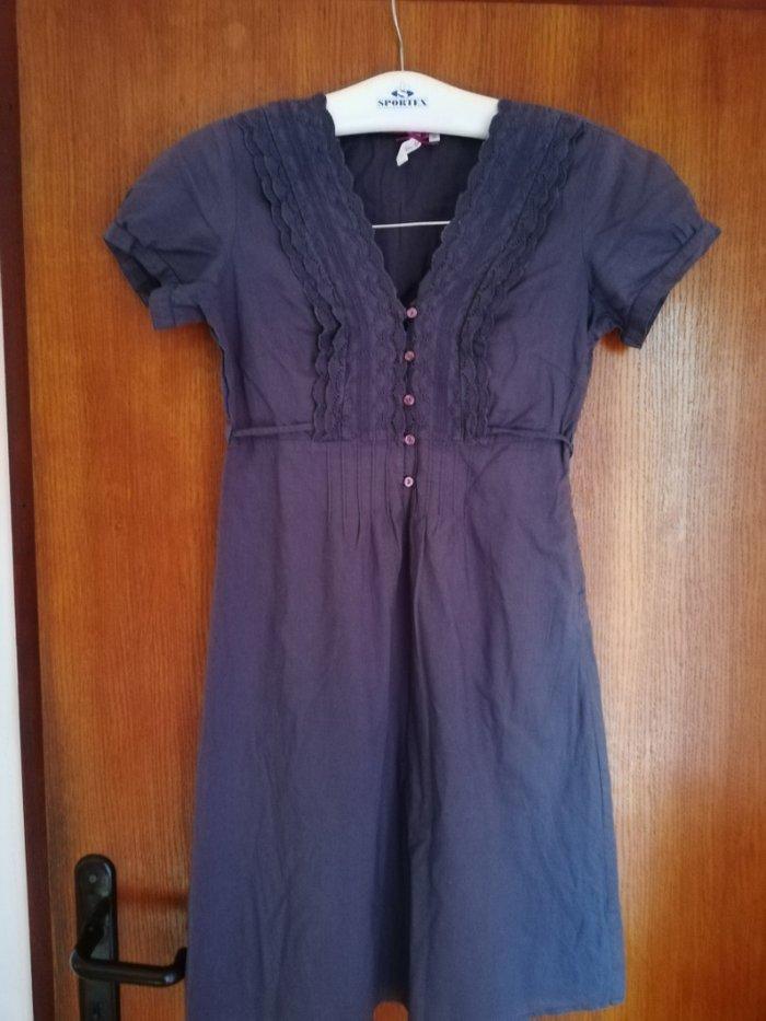 Haljine - Novi Sad: Tom Tailor haljina 36 velicina,tamno sive boje