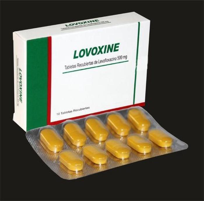 Buy Lovoxine (Levofloxacin 500mg) Tablets Online