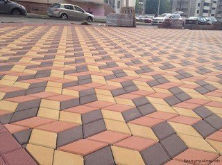 Прессований тротуарный плитка. Photo 7