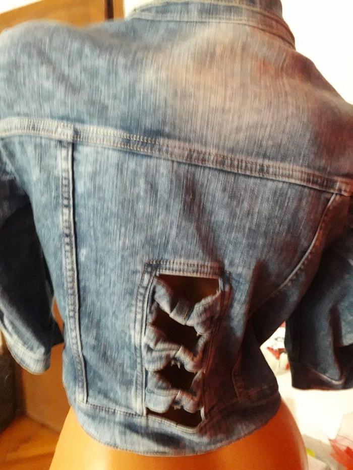 Dzins nova jakna sa velikim procentom elastina. Photo 2