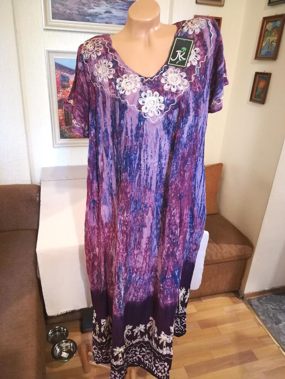 Nova zenska indijska haljina za punije dame Nini