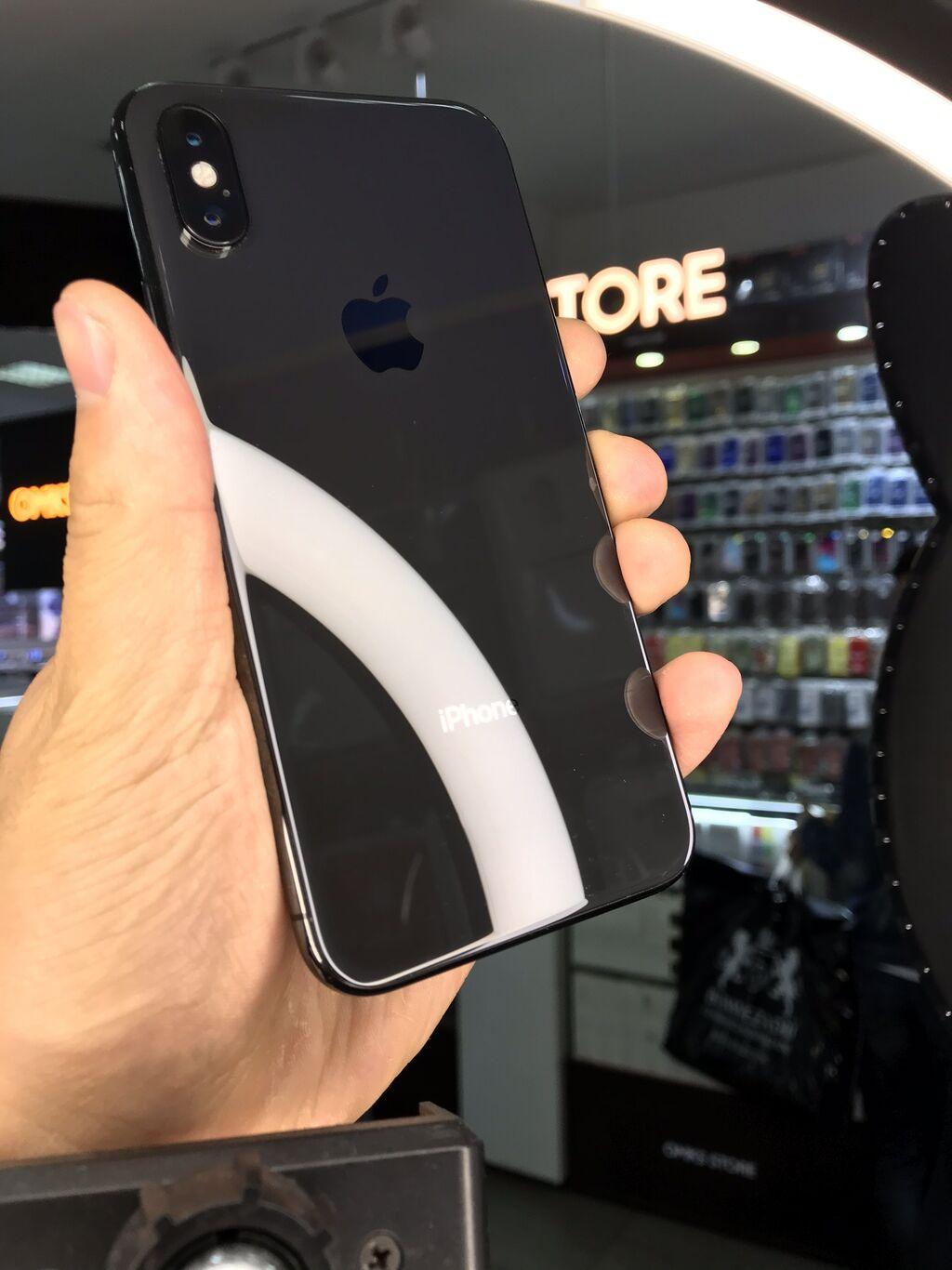 Б/У iPhone X 64 ГБ Черный: Б/У iPhone X 64 ГБ Черный
