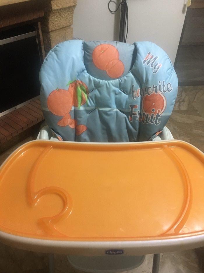 Καρεκλα φαγητου chicco σε πολυ καλη κατασταση . Photo 2