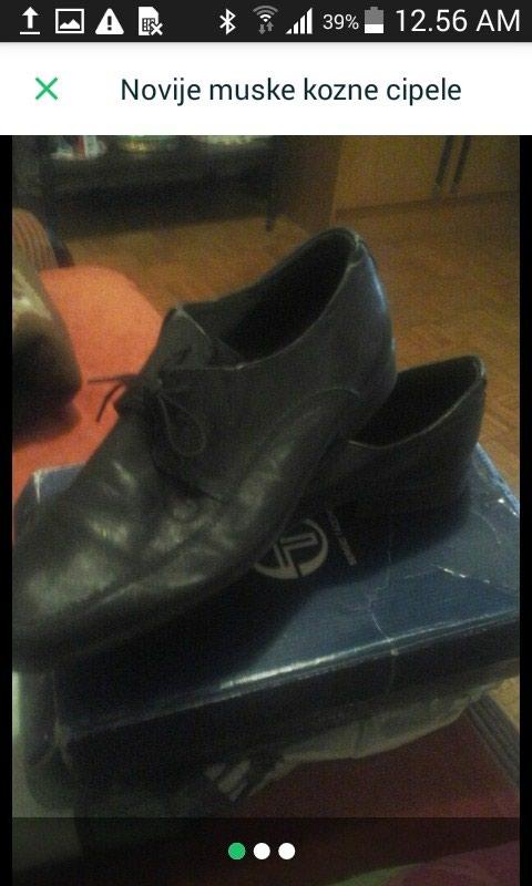 Muške crne cipele 45