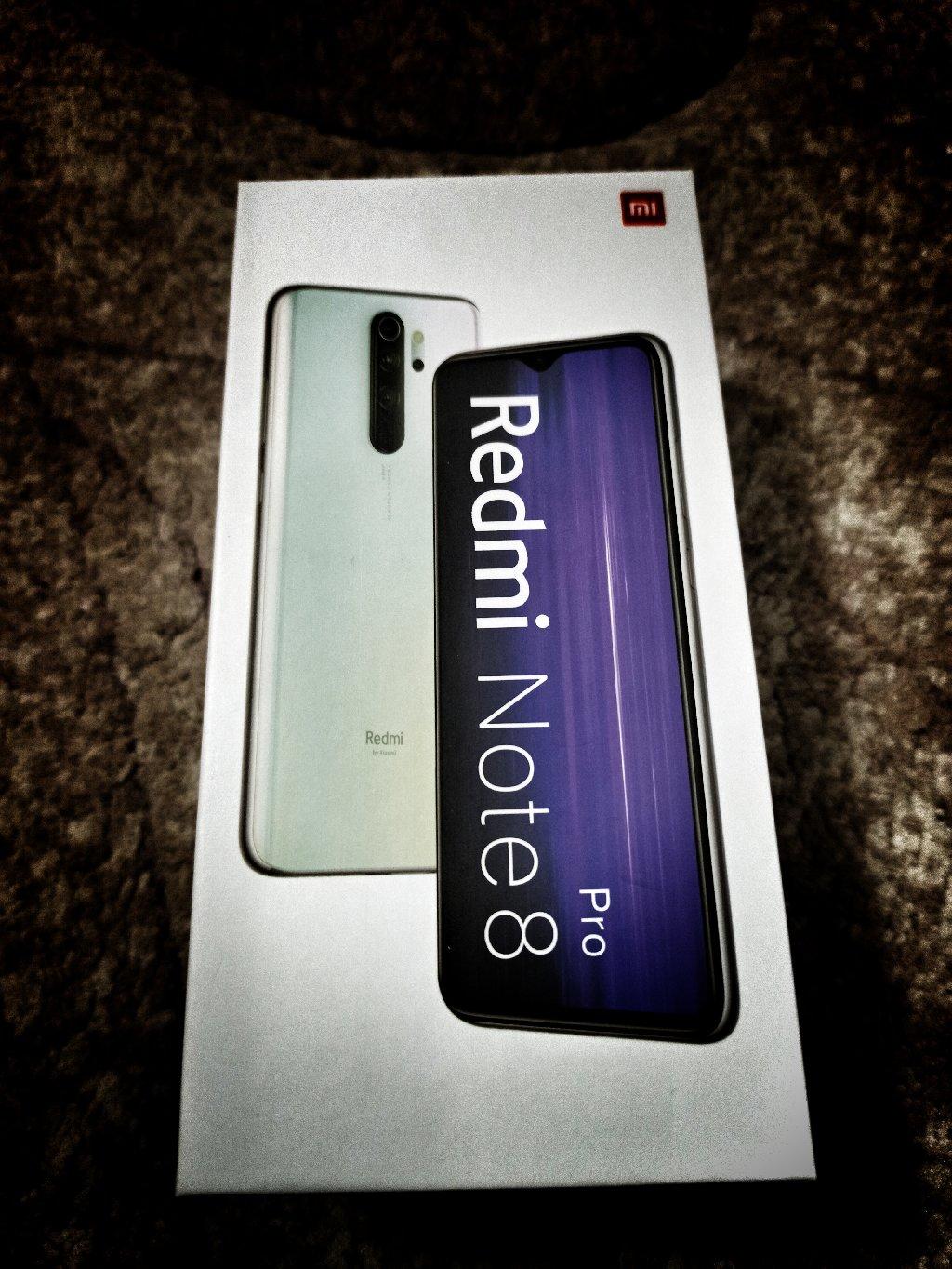 Xiaomi Redmi note 8 pro, 64/6gb, 64Mp kamera, 4500mAh battery