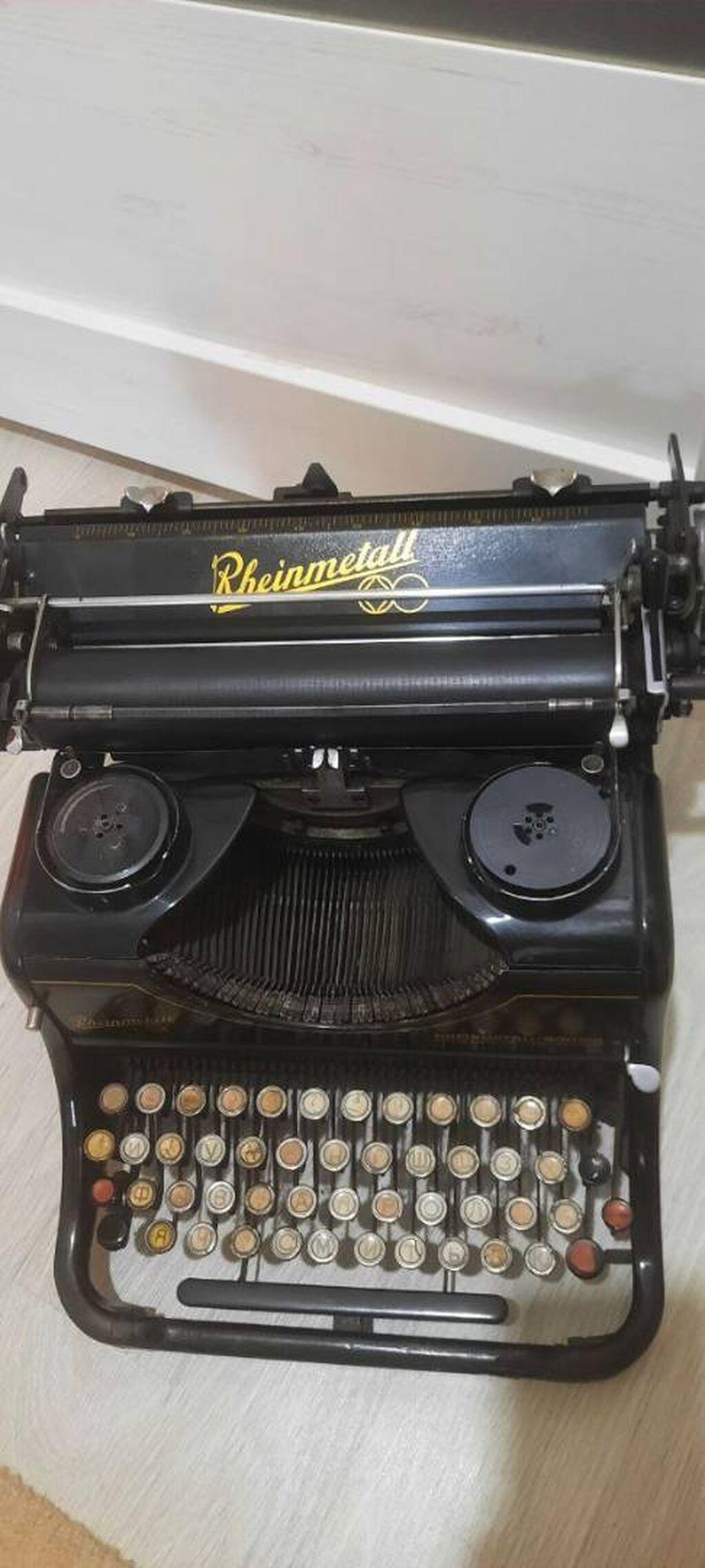 Продается печатная машинка 30х годов Rheinmetall в отличном состоянии: Продается печатная машинка 30х годов Rheinmetall в отличном состоянии