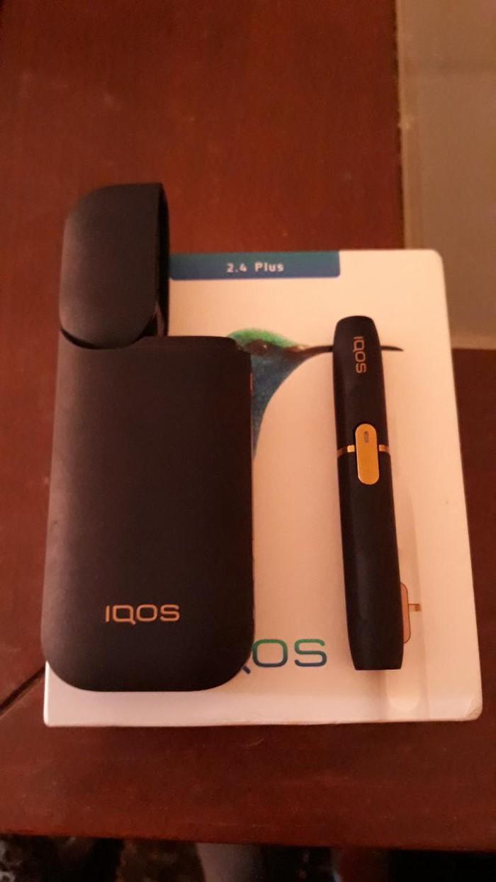 Πωλείται IQOS ηλεκτρονικο τσιγάρο χρώματος μαυρο χωρίς φορτιστή 30 €. Photo 0