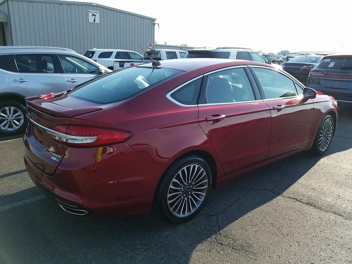 Ford Fusion 2018. Photo 1