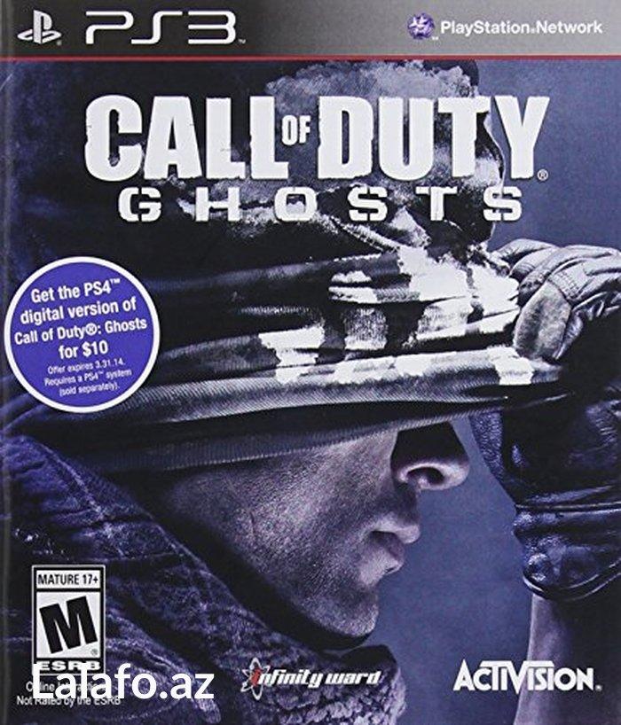 Bakı şəhərində PS3 *Call of Duty - Ghosts*