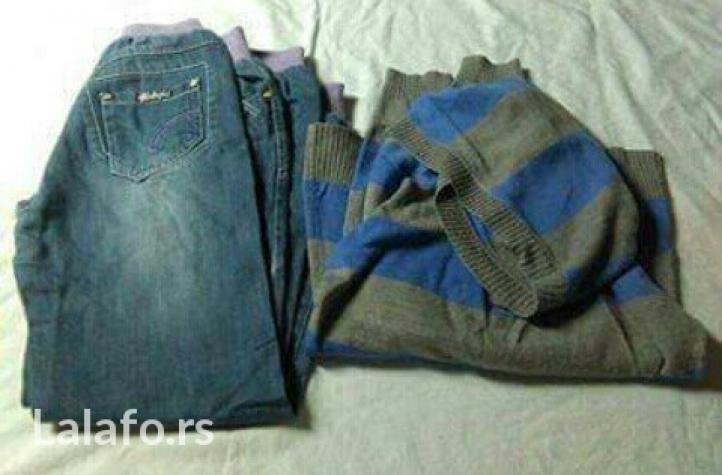 Pantalone, dzemper, bermude, vel. 12, ocuvano. Photo 1