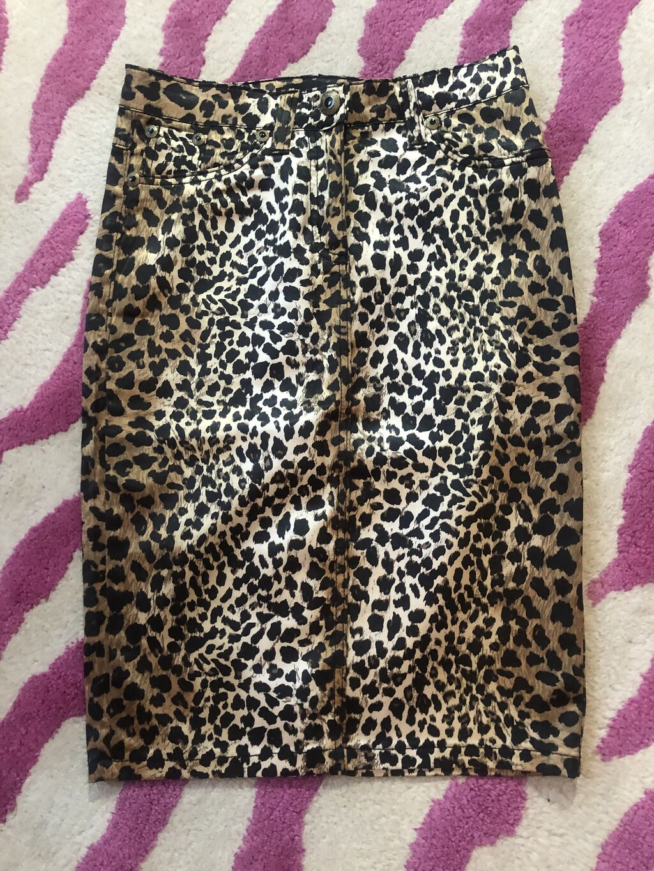Suknje - Kragujevac: Roberto Cavalli suknja sa leopard printom