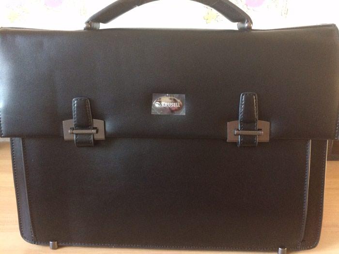 65186b14e61e Кожаный портфель для ноутбука и документов за 5000 KGS в Бишкеке ...