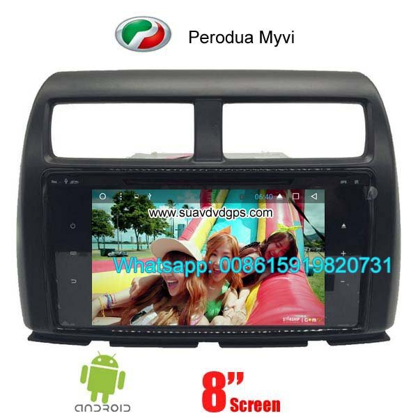 Perodua MYVI Car audio radio update android GPS navigation camera