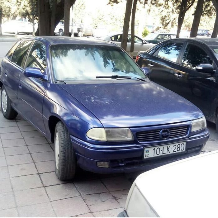 Opel Astra 1995. Photo 0
