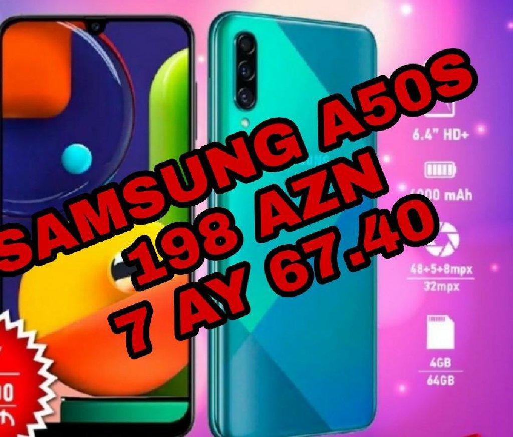 Yeni Samsung A50 4 GB Göy