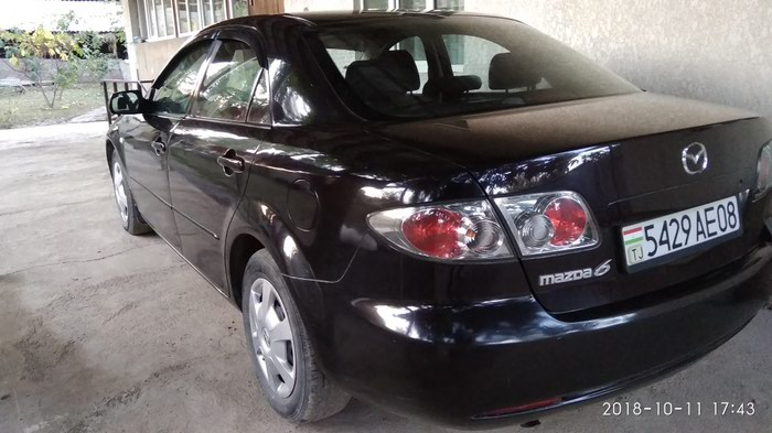 Mazda 6 2006. Photo 4