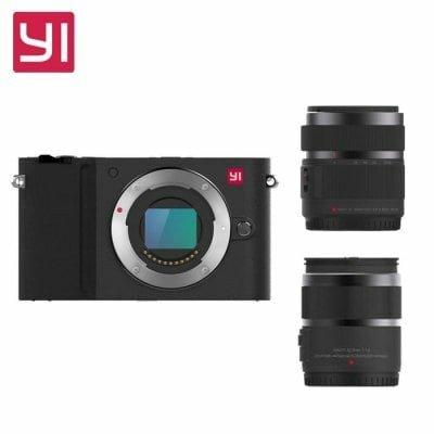 Xiaomi Yi m1 μαύρη με δύο φακούς σφραγισμένη καινούργια σε Μεγάλα Καλύβια