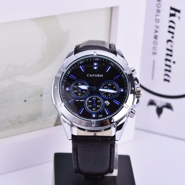 Стильные Мужские часы Cafuer.. Photo 0
