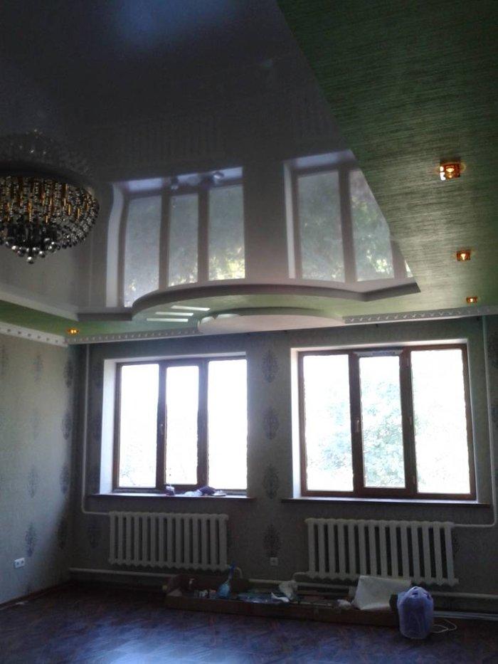 Изготовление натяжных потолков. Натяжные потолки. Натяжной потолок.. Photo 3