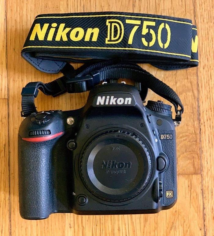 Nikon D 750. Photo 1