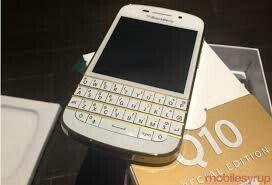 Blackberry q10 pola qwerty pola tech sim free pearl white edition 16gb - Beograd