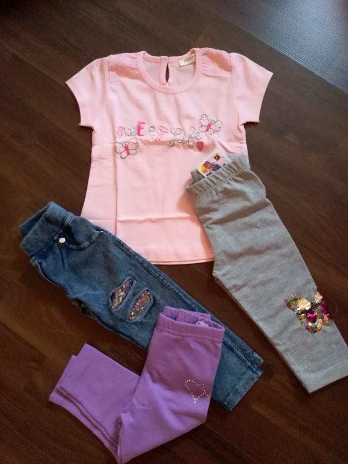 Paket nove garderobe za devojčicu. Veličina 80-86. Photo 0
