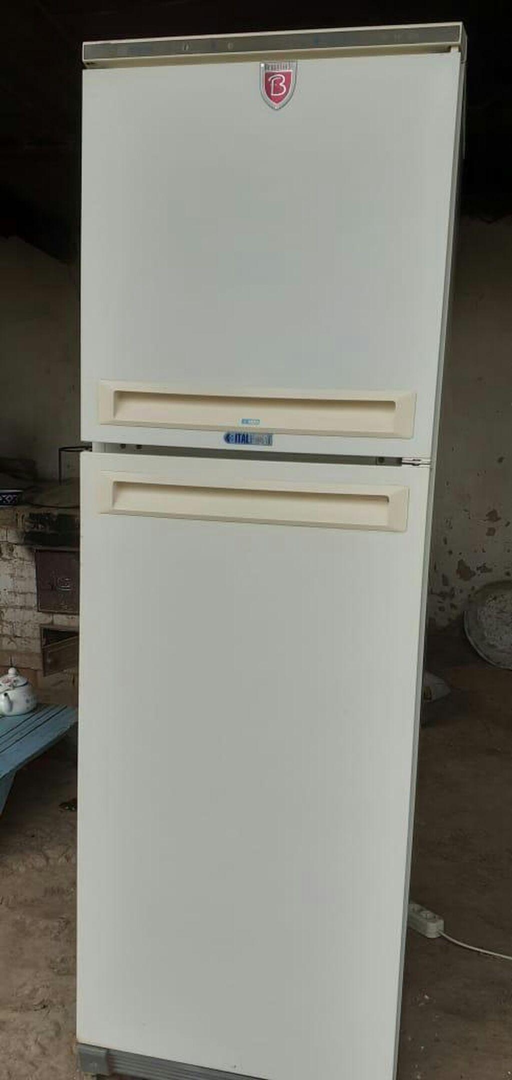 Б/у Двухкамерный Белый холодильник: Б/у Двухкамерный Белый холодильник
