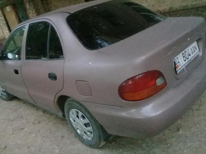 Hyundai Accent 1998. Photo 1