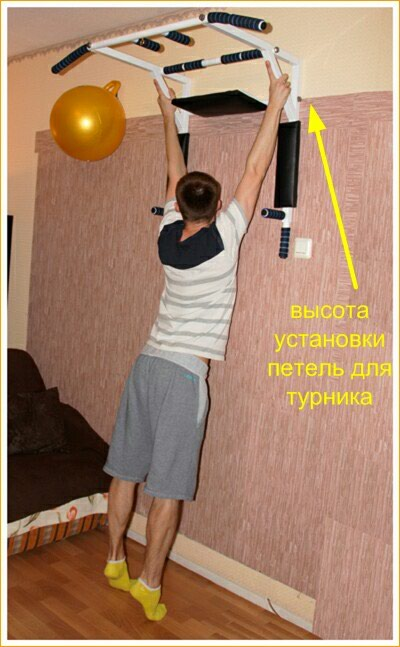 Установка турников . аристон . тv. Photo 0