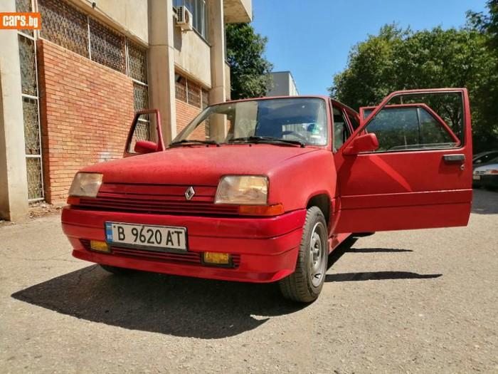 Renault 5 1.7 l. 1989   178525 km