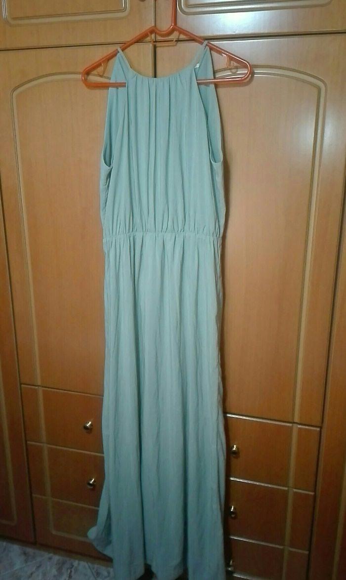 Φόρεμα h&m φυστικι large. Photo 0