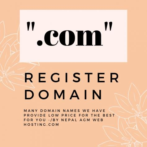 Register domain on Exclusive Offer only @AGM_WEB_HOSTING