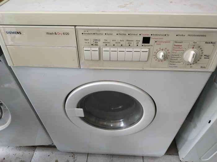 Washing Machine . Photo 1
