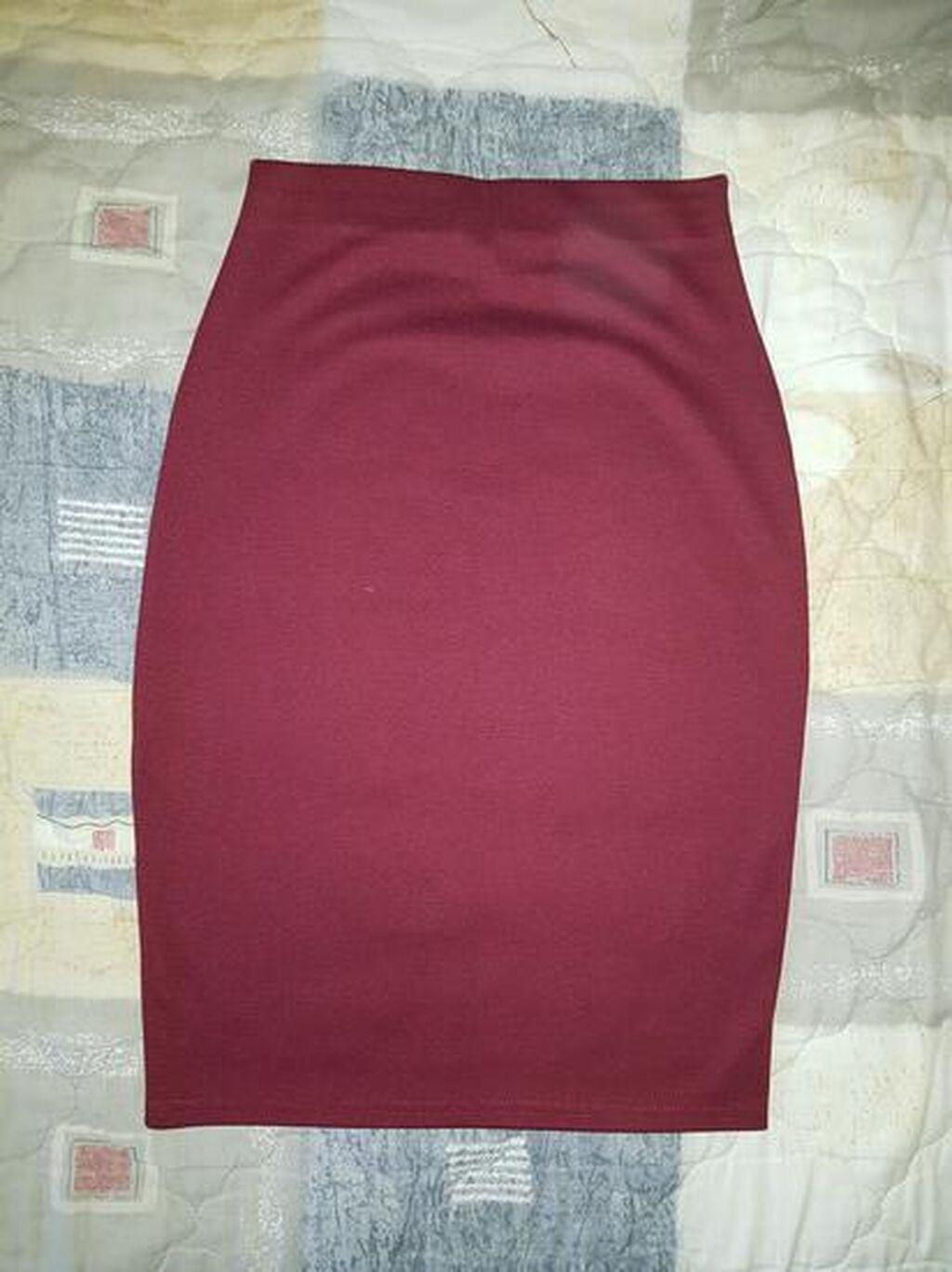 Ženska suknja do kolena Svaka po 600, obe 1000