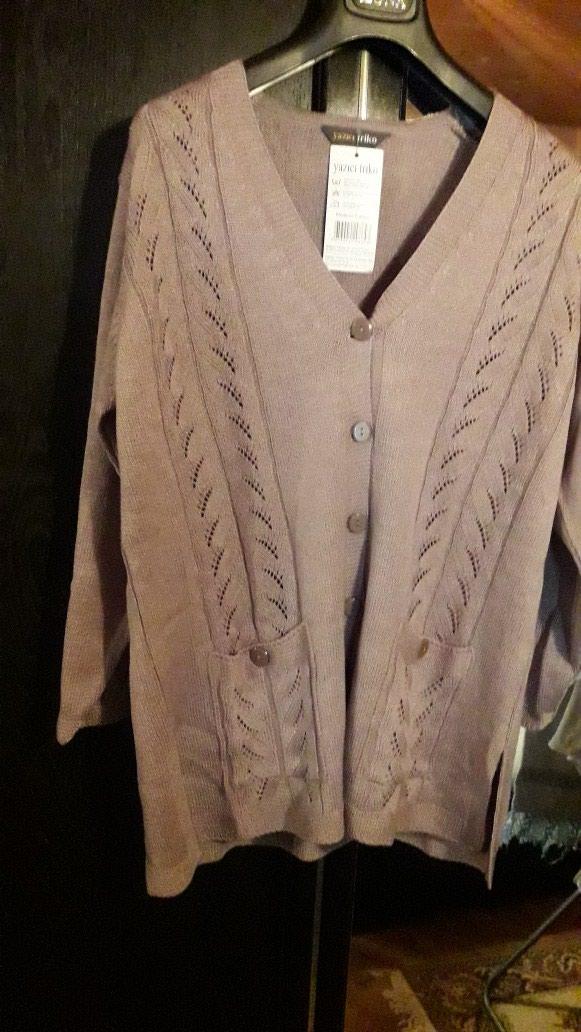 Duži džemper potpuno nov rađen od kvalitetnog debljeg svilenog konca. - Pozarevac