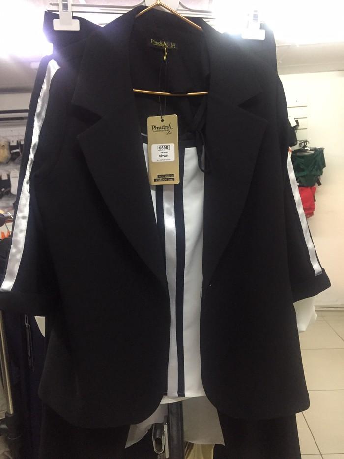 Троечка(блузка,пиджак,брюки)Турция. Photo 0