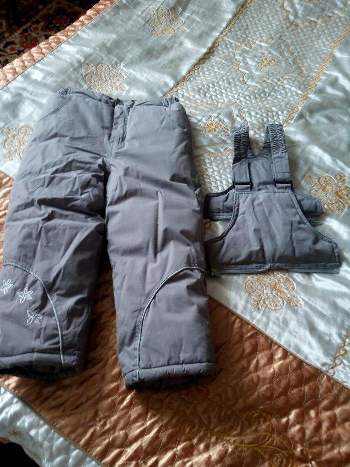 комбинезон зимний детский верх отстегивается можно носить как штаны оч в Бишкек