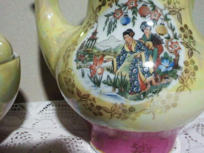 Чайник, большой от сервиза гейши, гдр 25 манат. Photo 1