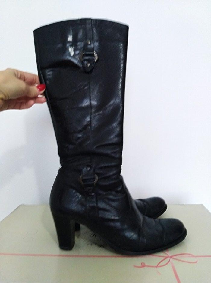 Čizme kožne, u dobrom stanju, izuzetno udobne, vel. 39. Photo 0