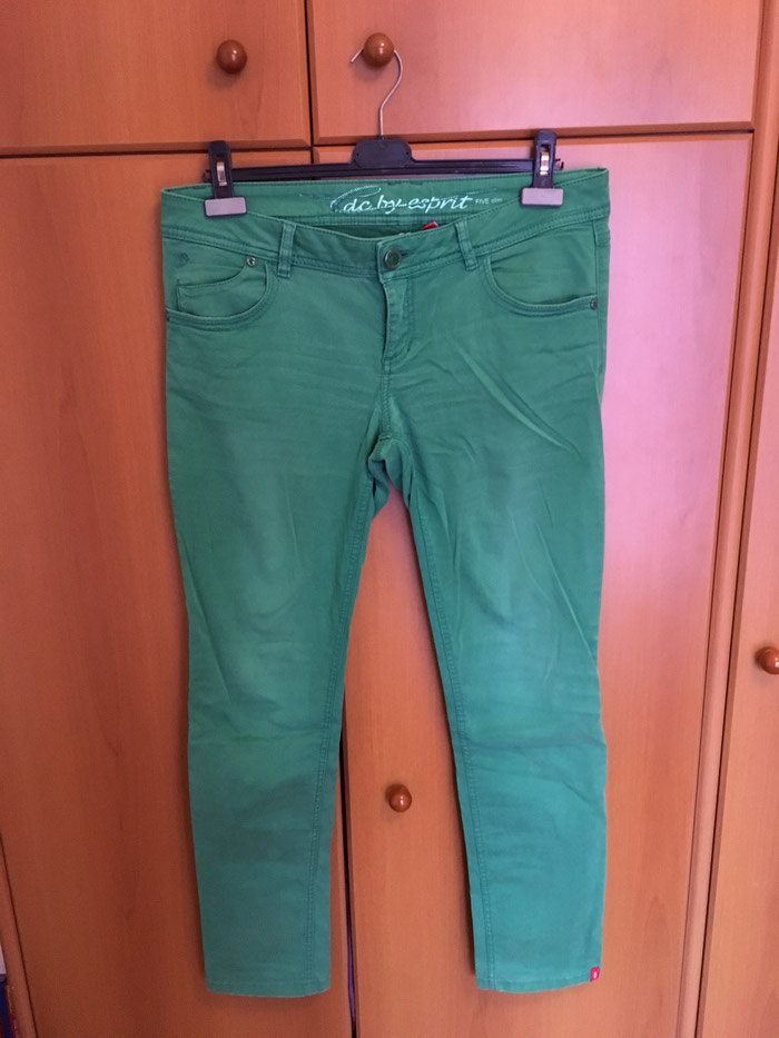 EDC by Esprit green pants size 40 regular in perfect condition. Photo 1