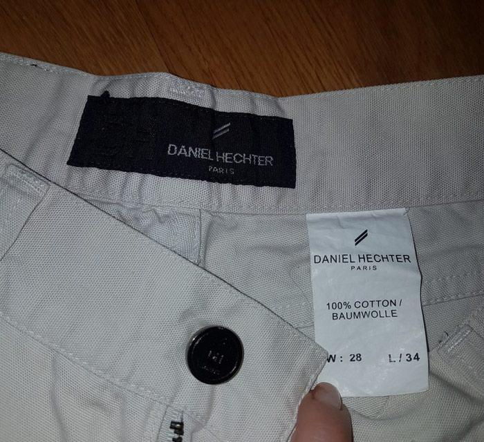 Muske pantalone, model farmerki, bez boje