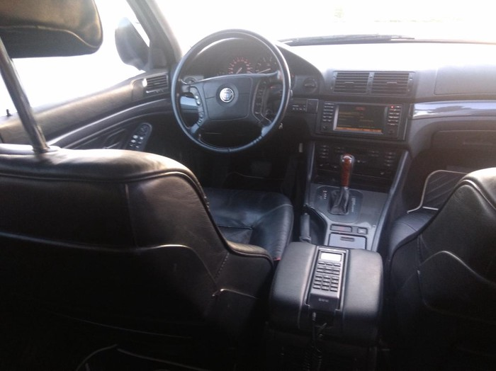 BMW 5 series 1998. Photo 6