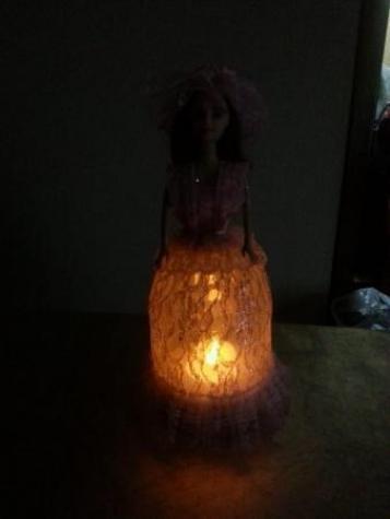 Lampa -kukla  (əl işləri). Photo 5